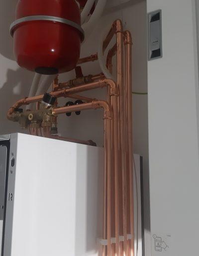 Lämmitysjärjestelmä asennettu, Viessmann, LVI-HEVI asentaa ammattitaidolla Pirkanmaalla.
